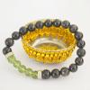 Black Tourmaline & Moldavite Bracelet