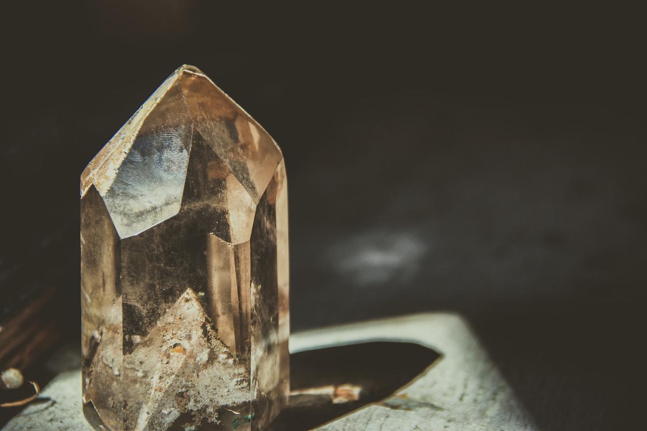 crystal, rock, mineral